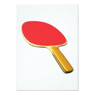 Ping Pong Paddle Card