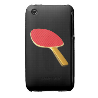 Ping Pong Paddle iPhone 3 Cases