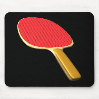 Ping Pong Paddle Mouse Pad