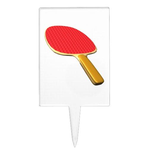 Ping-pong Paddle.png Figuras Para Tartas