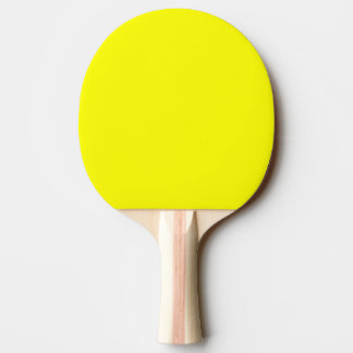 Ping Pong Paddle / Table Tennis Bat - Yellow