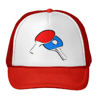 Ping Pong Paddles & Ball Trucker Hat