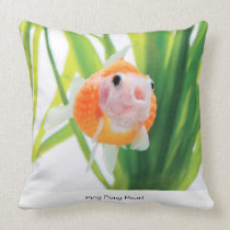 Ping Pong Pearl Throw Pillow