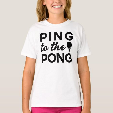 Ping Pong - Ping To The Pong T-Shirt