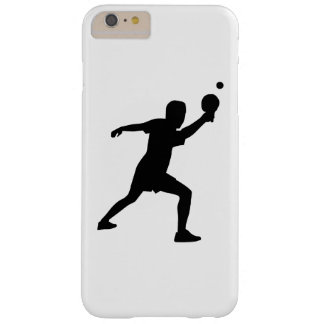 Ping Pong player Barely There iPhone 6 Plus Case