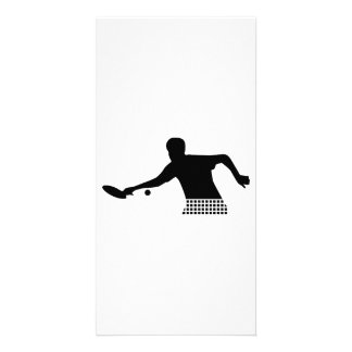 Ping Pong player Picture Card