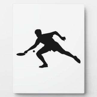 Ping Pong player Plaque
