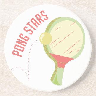 Ping-pong Posavasos Manualidades