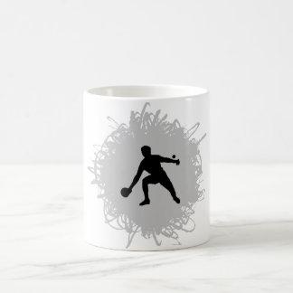 Ping Pong Scribble Style Coffee Mug