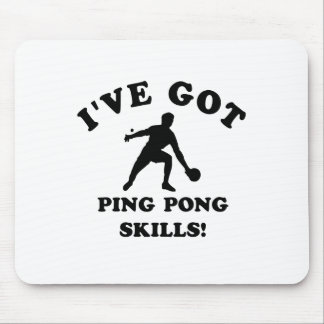 ping pong skill gift items mouse pad