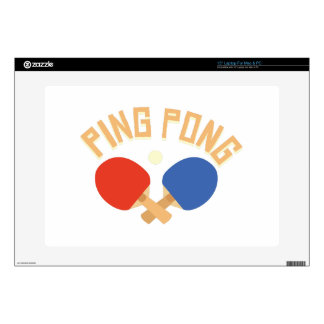 """Ping Pong Skin For 15"""" Laptop"""