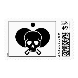 Ping Pong skull Postage