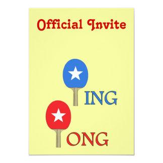 Ping Pong Star Card