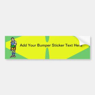 Ping Pong Table Tennis Bumper Sticker