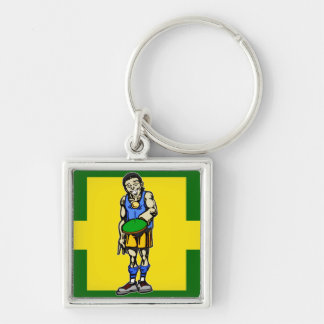Ping Pong Table Tennis Keychain