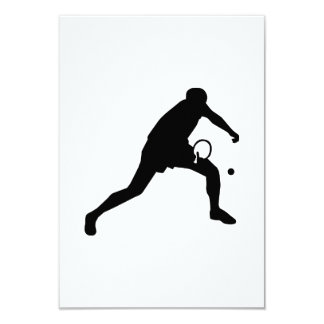 Ping Pong table tennis player Card