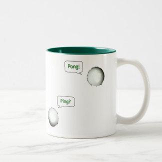 Ping Pong Two-Tone Coffee Mug