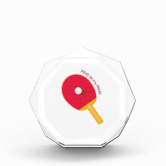 Ping To My Pang Acrylic Award