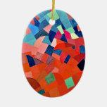 Pingente geométrico ornamentos para arvore de natal