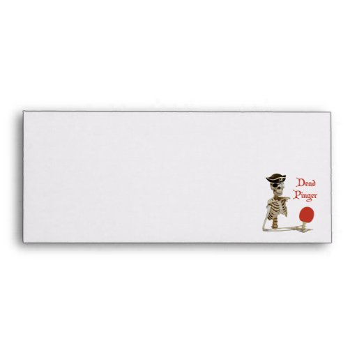 Pinger Pirate Ping Pong Envelope