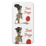 Pinger Pirate Ping Pong iPhone 4/4S Cases