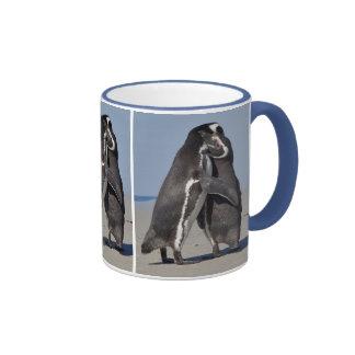 Pingo abraza la taza