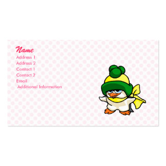 Pingo Penguin Business Card