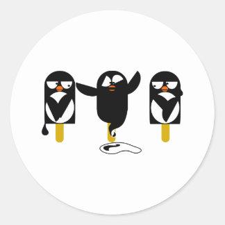 pingu2 classic round sticker