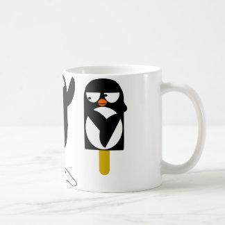 pingu2 classic white coffee mug