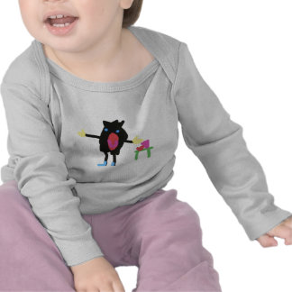 Pingu - Flip Boom crop Tshirt