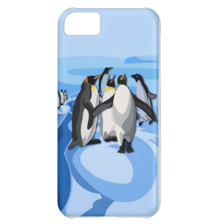 Pinguin iceberg cover for iPhone 5C
