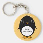 pinguin keychain