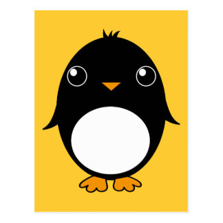 pinguin postcard