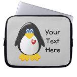 Pingüino adaptable funda computadora