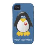 Pingüino adaptable iPhone 4 funda
