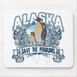 Pingüino Alaska Tapetes De Raton