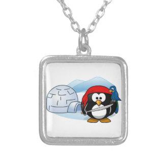 Pingüino antártico de Pitate Collar Plateado