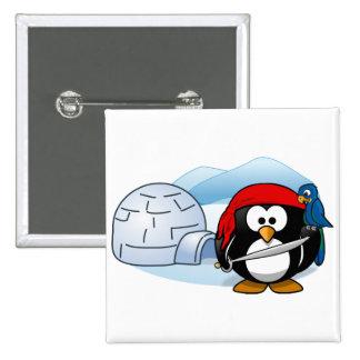 Pingüino antártico de Pitate Pin Cuadrado