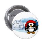 Pingüino antártico de Pitate Pins
