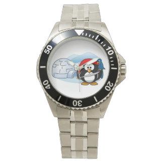 Pingüino antártico de Pitate Reloj