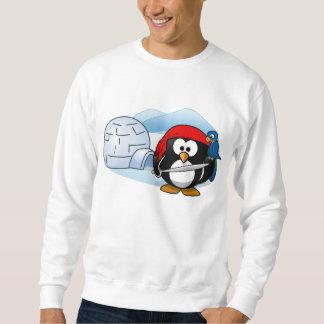 Pingüino antártico de Pitate Suéter
