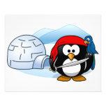 Pingüino antártico de Pitate Tarjeta Publicitaria