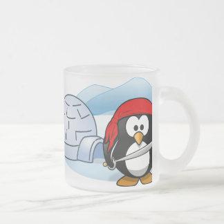 Pingüino antártico de Pitate Taza De Cristal