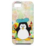 Pingüino artístico iPhone 5 coberturas