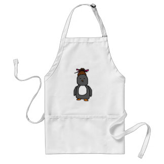 Pingüino asiático delantal