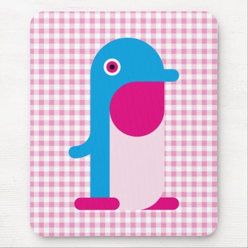 Pingüino azul alfombrillas de ratones