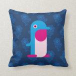 Pingüino azul cojines
