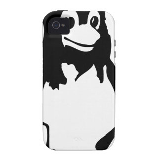 Pingüino Che del tux de Linux iPhone 4 Carcasa