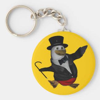 Pingüino conciencia día llavero ~ 20 de enero