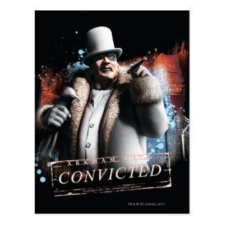 Pingüino - condenado postal
